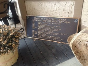 Mums plaque